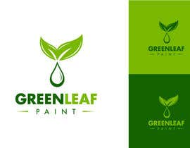 #222 para Logo Design for Green Leaf Paint por BrandCreativ3