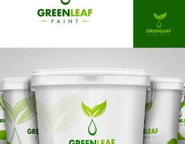 #235 para Logo Design for Green Leaf Paint por BrandCreativ3