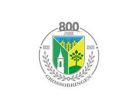 #39 para Design a 800-years anniversary Logo por ZahaDesigns