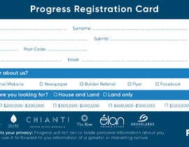 #24 for Design a Registration Card by Mohidulhaque1