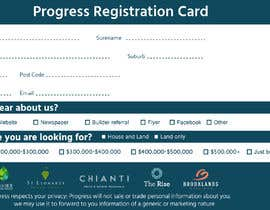 #25 для Design a Registration Card от h4s4n69s