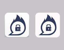 #2 untuk I need a graphic App icon design. It's a High level encrypted communication App. The icon needs to symbolizes communication, self destructive, and encrypted/protected. The second attached picture is show the main colors in the UI design. oleh sirana850