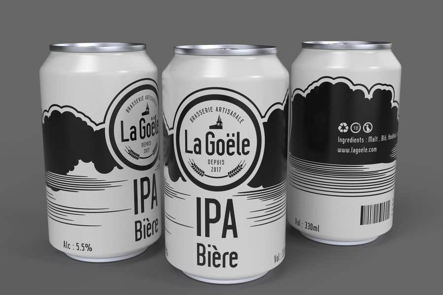Конкурсная заявка №7 для Artwork for beer Can Label