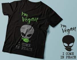 #70 untuk Vegan T-shirt Designs oleh Exer1976