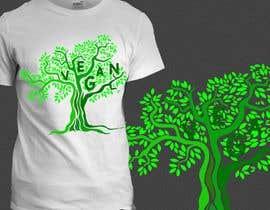 #64 untuk Vegan T-shirt Designs oleh ninjaboy185318