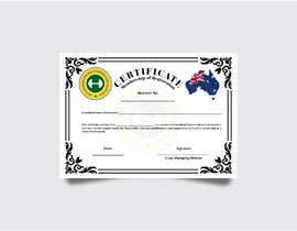 nº 4 pour Design a membership certificate par Tajammal007