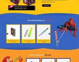 Nro 22 kilpailuun Design a Website for Online Firework sales käyttäjältä amritabaral90