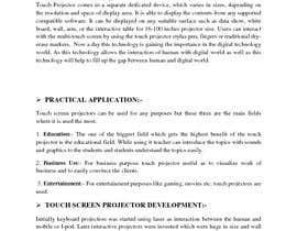 """#6 pentru Write an article titled """"Introduction Of The Touchscreen Projector"""" de către ani2903"""