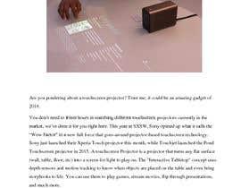 """#3 pentru Write an article titled """"Introduction Of The Touchscreen Projector"""" de către AnsaAsad4"""