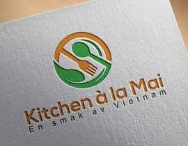 #39 untuk Logo for Vietnamese Kitchen oleh shahadatfarukom3