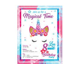 #20 for Invitation Backdrop & Save the Date by luisalejandror