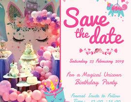 #5 for Invitation Backdrop & Save the Date by effieser