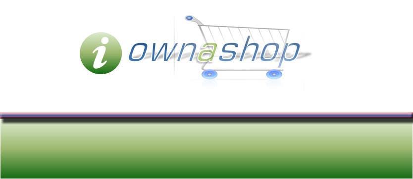 Конкурсная заявка №138 для Logo Design for iownashop (I own a shop) iownashop.com