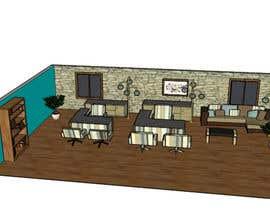 nº 20 pour Architectural and Paint Diagram Rendering for Office Space par SolutionsSP