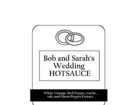 #10 για Design my Wedding Hotsauce Label από ellengemback