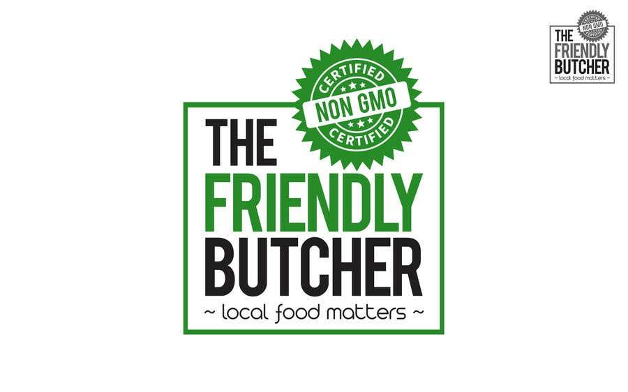 Konkurrenceindlæg #103 for The Friendly Butcher business logo