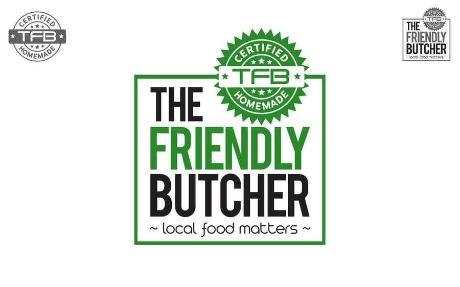 Konkurrenceindlæg #121 for The Friendly Butcher business logo
