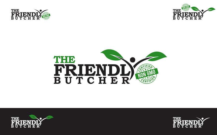 Konkurrenceindlæg #186 for The Friendly Butcher business logo