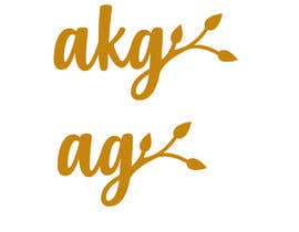 #12 for I need a two separate logo icons designed with following initials : AKG and AG --- this will be used to create a necklace and ring af gabrielcarrasco1