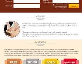 Nro 22 kilpailuun Design a Website Mockup käyttäjältä W3WEBHELP