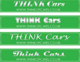 #6 for Create a jpg / pdf for a design for rear car window stickers by ozairalvi