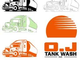 nº 9 pour Vectorize & create an outline of a truck image par letindorko2