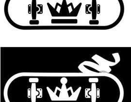nº 5 pour A simple custom crown logo for a skater/hip hop brand par GreciaDG