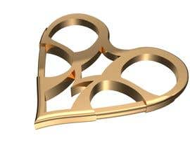 nº 116 pour 3D Heart Jewelry Model par doaaazooz