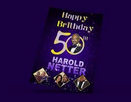 nº 34 pour 50th Birthday Flyer par designcreative28