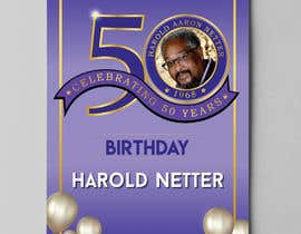 nº 50 pour 50th Birthday Flyer par aatir2