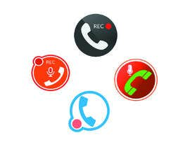 #26 for Design App Icon for Call Recording App by AfzlDesign