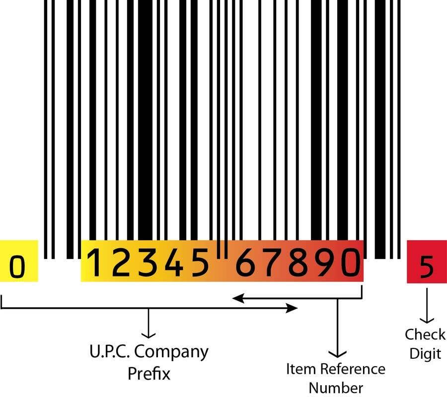 Penyertaan Peraduan #3 untuk Make quick UPC code
