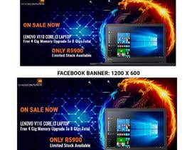 #35 untuk Design A Banner For My Website and Facebook (Laptop Special) oleh shajh