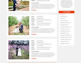 nº 10 pour PSD Redesign of Wedding Directory Site par divyamaven