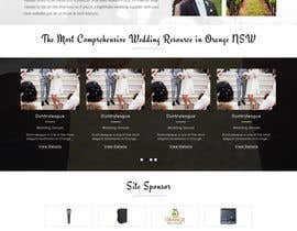 nº 7 pour PSD Redesign of Wedding Directory Site par ayan1986