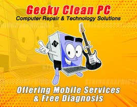 #8 for Geeky Clean PC Logo Update and New Location by nhicko07