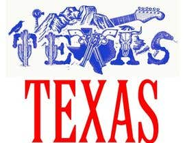 #25 for Design Texas sticker for gift product for gift shop by khe5ad388550098b
