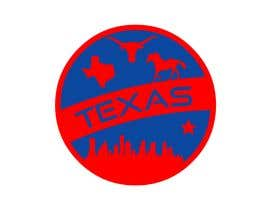 #40 for Design Texas sticker for gift product for gift shop by FZADesigner
