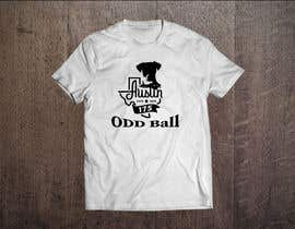 "#49 para Tshirt Design for a Group of Owners of Dog Daycares ""The ODD ball! por frelet2010"