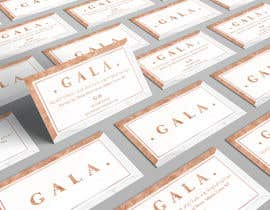 nº 36 pour I need some graphic design. For business card and price tag , my company name is GALA , color: rose gold & off white. par angelacini