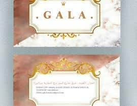 nº 44 pour I need some graphic design. For business card and price tag , my company name is GALA , color: rose gold & off white. par Saran2u