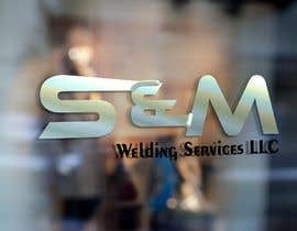 #3 for Name of my business is S&M Welding Services LLC. I want the S&M to be done as an aluminum  weld in progress with a tig rig and wire at the end of the M. I want welding services llc to be included somewhere in the image to show the complete company name. by DarkEyePhoto