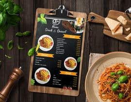 #14 for Design an Internet Cafe/Restaurant Menu af mdtafsirkhan75