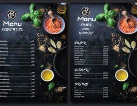 #19 for Design an Internet Cafe/Restaurant Menu af shsanto
