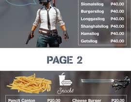 #12 for Design an Internet Cafe/Restaurant Menu af Dubledave