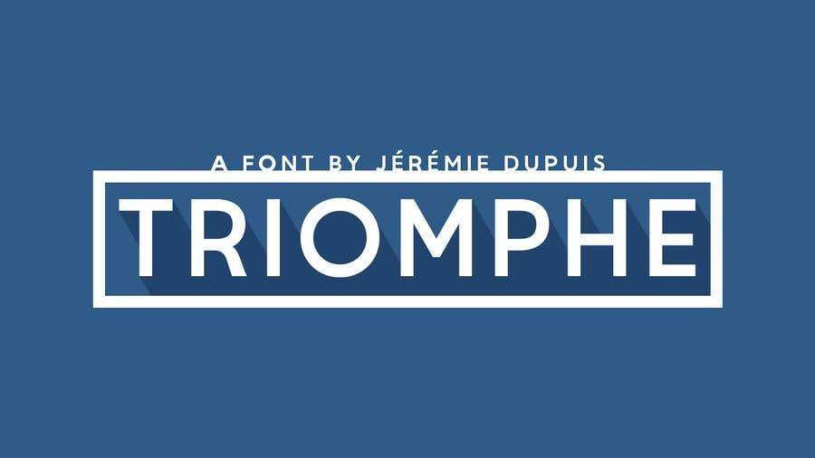 Konkurrenceindlæg #2 for Find this font in logo