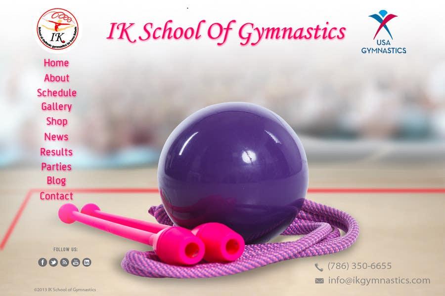 #65 for Website Design for ik gymnastics LLC by datagrabbers
