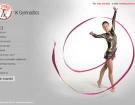 vijayadesign tarafından Website Design for ik gymnastics LLC için no 70