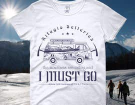#26 for Design a t-shirt celebrating a mountain lodge by color78