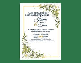 #7 for Design a nice invitation Card for a wedding by mdtafsirkhan75